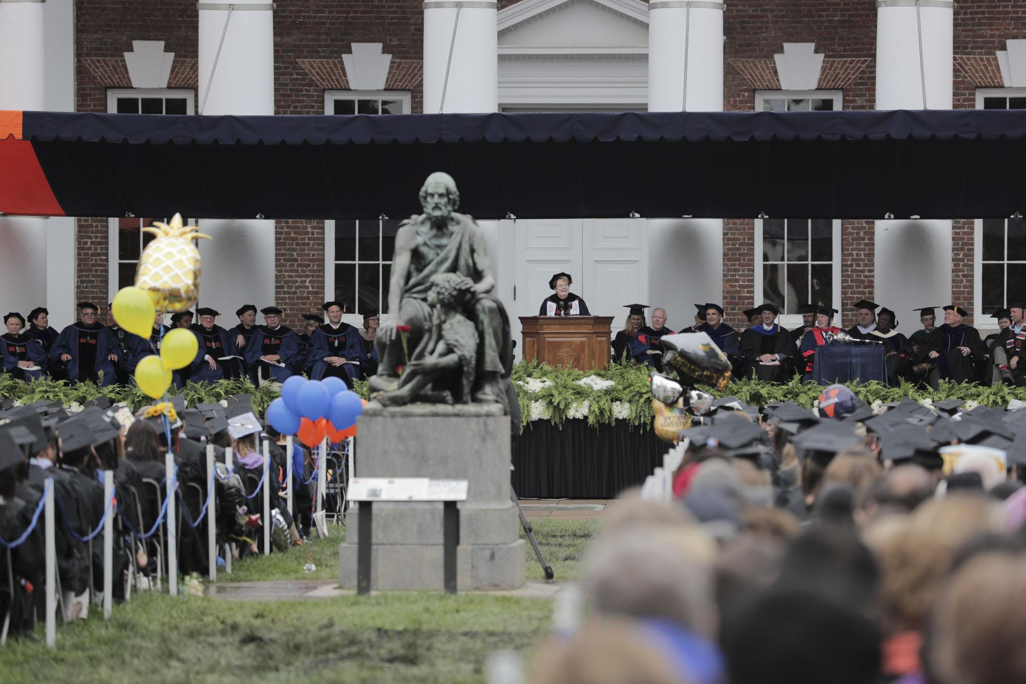 Despite Drizzle, Joy Abounds in the First Graduation Ceremony of the Weekend